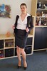 Business Woman (Rikky_Satin) Tags: silk satin blouse leather pencil skirt suit pumps highheels crossdressing crossdresser transvestite transgender transformation transformed feminization m2f mtf sissy secretary business office fashion attire ladylike