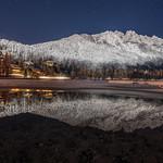 Lake Jasna on a winter night thumbnail