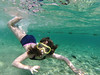 Snorkeling girl (Dumby) Tags: child copil eilat israel nature snorkeling coralbeach redsea qilive