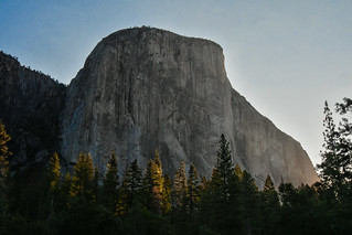 El Capitain in morning rays