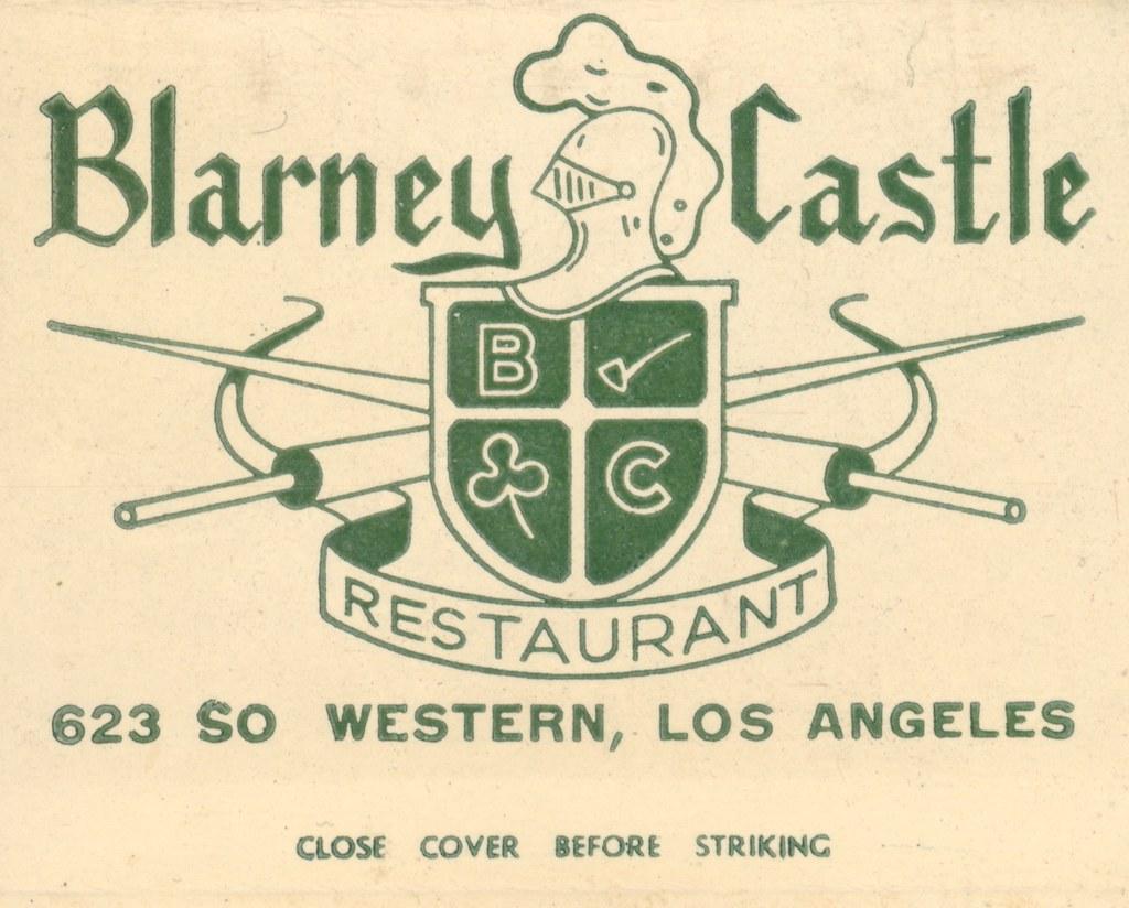 Blarney castle restaurant los angeles