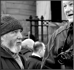 The Cuckoo's Nest (* RICHARD M (7+ MILLION VIEWS)) Tags: street candid portraits portraiture streetportraits streetportraiture candidportraits candidportraiture mono blackwhite expressions eyes thecuckoosnest ray g8lite flickrites photographers togs fun lol chinesenewyear gongheyfatchoy happynewyear parades theeyeshaveit camera liverpoolchinatown lookingup woollyhat woollenhat beards bearded whiskers bewhiskered raywood markwalch statingintospace stares liverpudlians scousers scouse merseysiders yearofthedog liverpool merseyside february humour