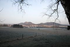 Morgenstunde (Sandsteiner) Tags: winter winterlandschaft gohrischstein papststein kleinhennersdorfer stein elbsandsteingebirge sandsteiner