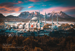 Istanbul, Chile (ElginCon) Tags: ifttt 500px sky landscape sunrise forest sunset mountains nature sun istanbul architecture cityscape view skyline dawn cloud earth photography lightroom dusk mosque photomanipulation chile dramatic photograph earthporn
