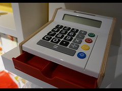 Kids toy cash register (spelio) Tags: ikea shopping sets test a6000 sony stuff things shooting art display toy