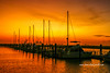 Colorful Marina Sunrise (tclaud2002) Tags: sun sunrise colorful skymorning dawn marina boats docks sailboats mast weather downtown fortpierce florida usa
