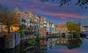 DELFSHAVEN (K&S-Fotografie) Tags: delfshaven rotterdam hafen architektur wasser water netherland reflection evening landexposure city niederlande boot gebäude sky himmel stadt fluss