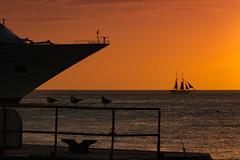 Key West sunset 2 (logical_j) Tags: tamron canon florida keywest sailboat boat ship pier harbor seascape oceanview ocean silhouette sunset
