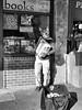 cat (Gravity Shackles) Tags: city seattle streetphotography street performer blackandwhite bw monochrome catman flickr panasonic lumixcamera