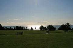 Broadstairs, Dumpton Gap (Chronur) Tags: england kent broadstairs dumptongap horizont goldenestunde sunset landscape holiday sky horizon seascape