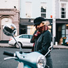 blue VESPA (Leo P. Hidalgo (@yompyz)) Tags: london portrait bea girl camden