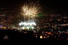 It was great moment in Abha. (Ibrahim Hamaty) Tags: firework abha saudiphotography saudiarabia asir nikon العابنارية ابهاالجديدة ابها عسير بحيرةالسد