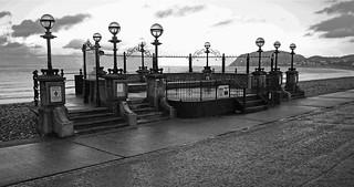 Llandudno Bandstand - Mono