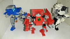 A few BattleTech Frames (Artasid) Tags: