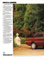 1984 Peugeot STI Sedan Page 1 Aussie Original Magazine Advertisment (Aussie Car Adverts) Tags: 1 9 8 4 p peugeot s t i sti sedan french f e europe european collectible collectors c car a automobile vehicle v 80s