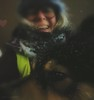 """This is my best side, mom,  don't you have any?"" (evakongshavn) Tags: selfie winterishselfie asmileadaykeepsthedoctoraway winter winterish hiver neige snow dogselfie dog outside outsidepictures photo walkingthedog eveningwalk evaselfie utpåturaldrisur 7dwf"