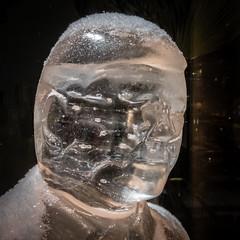 The Iceman (ristoranta) Tags: lumi night luonto jäämies ice ilta jää head pää iceman canonpowershotsx60hs snow