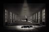 ceaseless (chris.regg) Tags: ballett dancing abandoned lost ceaseless jump dancer theatre bw blackwhite blackandwhite monochrome urbex urbanexploration urbanexplorer