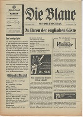 Bayern Munich/TSV 1860 Munich-Combined X1 v Manchester United 1958 (Leslie Millman-Manchesterunitedman1) Tags: bayernmunich tsv munich 1860 germany 1958 manchesterunited