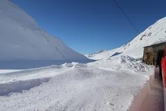MGB - Oberalp Pass (Kecko) Tags: 2018 kecko switzerland swiss schweiz suisse svizzera innerschweiz zentralschweiz uri oberalp pass oberalppass matterhorngotthardbahn railway railroad mgb eisenbahn bahn zug train winter schnee snow avalanche gallery lawinengalerie swissphoto geotagged geo:lat=46661720 geo:lon=8666060