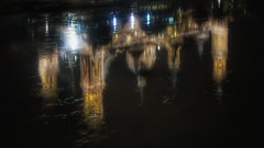 El Pilar reflejado en el rio Ebro. (Marina Is) Tags: agua water reflection reflejo basilica river rio 652oscuridad oscuridad sliderssunday hss