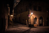 The Mysteries of Nuremberg (Gilderic Photography) Tags: nuremberg building germany alley street night city old lights lamp wall mystery canon 500d