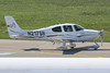 N217SR - 2006 build Cirrus SR22 GTS, taxiing for departure on Runway 24 at Friedrichshafen during Aero 2017 (egcc) Tags: 2118 aero aerofriedrichshafen aerofriedrichshafen2017 bodensee cirrus cirrusdesign edny fdh friedrichshafen gts lightroom n217sr sr22