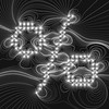 Magnetic Typo - GeneTypo 068. (spaghetticoder77) Tags: spaghetticoder77 genetypo generative typography typeface physics magnetic magnetism lines charges positive negative proce55ing processing vector