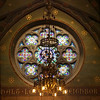 Religious Beauty (Seeing Visions) Tags: 2017 unitedstates us newyork ny ithaca cornelluniversity sagechapel window stainedglass chandelier painted arch architecture church religion religious christian square raymondfujioka