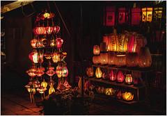 594 - FAROLILLOS ILUMINADOS EN LA NOCHE DE HOI AN -VIETNAM - (--MARCO POLO--) Tags: ciuadades exotismo asia nocturnas curiosidades