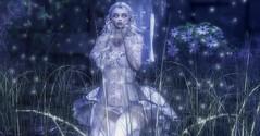 Shine bright (☢.:Myth:.☢) Tags: secondlife sl forest woods magical elf elven dust sparkle shine shimmer maitreya portrait