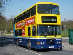 RV611 - Rt120 - Ashtown Road- 110410 (dublinbusstuff) Tags: dublin bus dublinbus rv611 volvo olympian alexander route120 phibsboro ashtown riverroad cabra