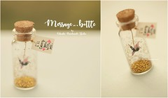 I'll carry you with me,Tiny message in a bottle,Miniatures,Personalised Gift,Love Card,Valentine Card,Gift for her/him,Girlfriend gift, birthday card, holiday card and japanese handmade card ideas (charles fukuyama) Tags: chiyogami 千代紙 origami 折り紙 japanstyle greetingscard handmadecard unique glitter seasonalcard paperart homedecor deskdecor decoration miniaturescard anniversarycard valentineday kikuike messagecard