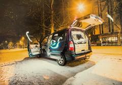 (Alex Bornaz ►TEST) Tags: car nikon light lights alex bornaz алекс борназ street streets europe bus commercial garden snow winter 1935mm soligor luxury luxuri sofia bulgaria