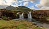 Kirkjufellssfoss (waterfall) (einisson) Tags: kirkjufellsfoss kirkjufell snæfellsnes waterfall iceland ísland mountains water rocks outdoor landscape nature einisson canon