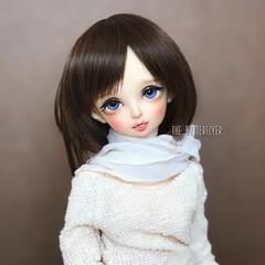 Rin (Dancing*Butterfly) Tags: abjd fairyland mnf msd makoeyes bjd caroline doll minifee rin