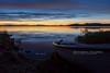 Mutusjärvi, Finland (Obliot) Tags: grandenord sunset obliot finland boat canon mutusjärvi orange shore artic eos inari eos6d lake riutula ef24105 nord 6d sky agosto midnight anm notrth flickr regionedellalapponia finlandia fi