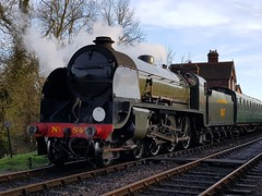 2018 0212 511 (SGS8+) Bluebell Railway; Sheffield Park (Lucy Melford) Tags: samsunggalaxys8 bluebell railway steam train departing southern sheffield park