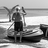 el capitán antes de la gran expedición (every pixel counts) Tags: 2016 samaná caribe boat man blackwhite bw beach everypixelcounts blackandwhite dinghy people playa ocean republicadominicana caribbean daylight day sun atlantic