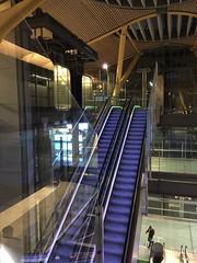 Madrid-Barajas International Airport Terminal 4 Arrivals Hall (Debrian Media) Tags: airport escalator flickr madrid madridbarajasinternationalairport spain mad madterminal4