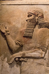 An Assyrian Prince (Mark Kaletka) Tags: orientalinstitutemuseum universityofchicago chicago illinois unitedstates us ancient middleeast carving statue assyrian museum artifact egyptian sumerian stone persian tablet