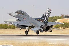 93-0696 - Lockheed Martin F-16D Fighting Falcon - 192 Filo, TuAF (KarlADrage) Tags: 930696 lockheedmartinf16 generaldynamicsf16 f16d fightingfalcon viper 192filo turkishairforce tuaf ntm natotigermeet tigermeet2006 leab