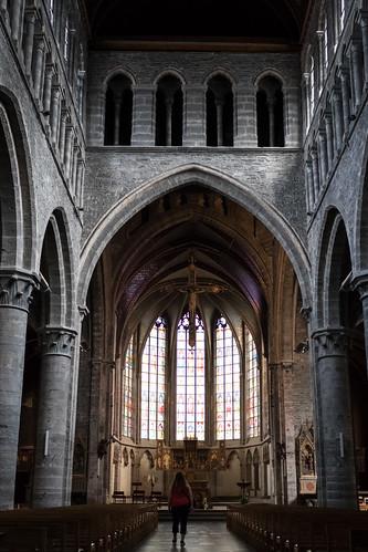 Eglise Saint Quentin, Tournai
