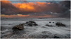 Orange Clouds (Steven Peachey) Tags: seascape canon seaham uk northeastengland stevenpeachey sunset canon5dmarkiv ef1740mmf4l lee09gnd leefilters