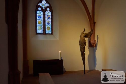 Raum der Stille in der Katharinenkirche Oppenheim