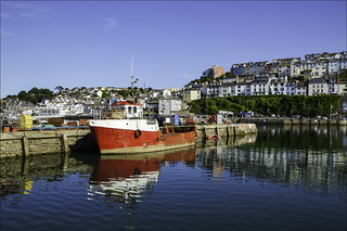 Brixham One of The Largest Fishing Ports in Britain