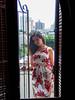 Patricia Ortega (polianaamaral) Tags: nikon andré santo sessão linda modelo pessoa sacada predios grade porta