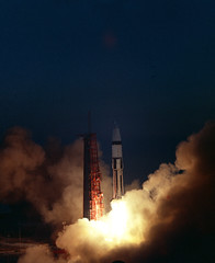 #TBT: Apollo 5 Launches – Jan. 22, 1968 (NASA's Marshall Space Flight Center) Tags: nasa marshall space flight center msfc history apollo 5 sls launch system sivb apollo5