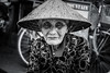 Hoi An- Wisdom (Edocaprio) Tags: hoian portait vietnam woman travel oldwoman asianwoman hat asian monochrome blackandwhite blancoynero asia streetphotography old