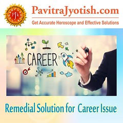 Remedial Solution for Carrer Issue PavitraJyotish (PavitraJyotish) Tags: remedial solution for career issue growth progress astrological remedies right opportunity